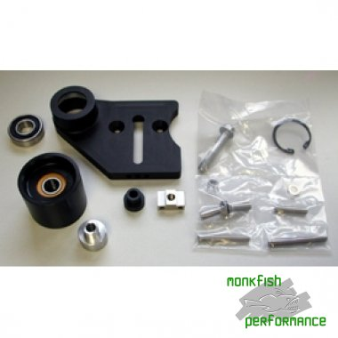 14 Rib RR Tensioner Bracket Assembley, Lingenfelter, For Magnusson TVS supercharger, Monaro and VXR8 models