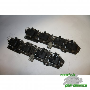 Coil packs. Full set for LS1.  Includes mounting bracket and Harness